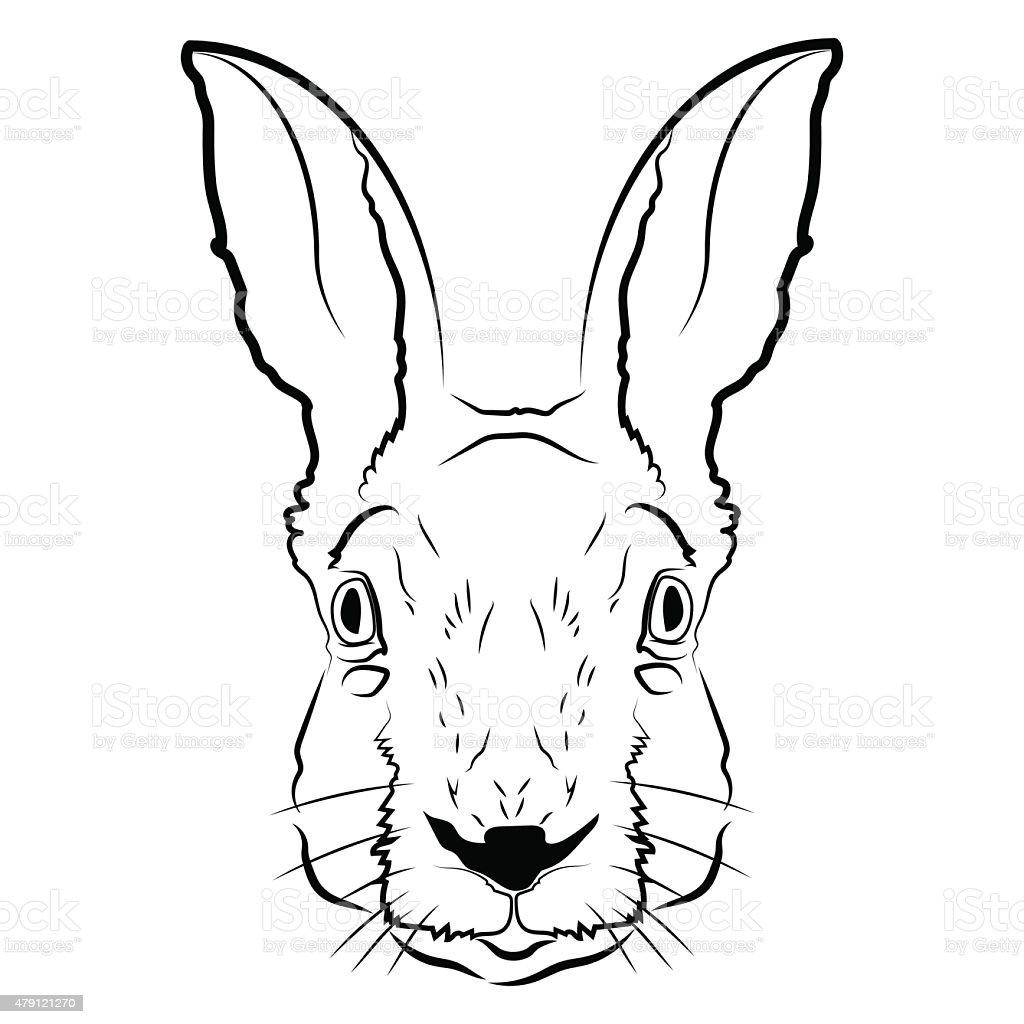rabbit head logo or icon stock vector art 479121270 istock