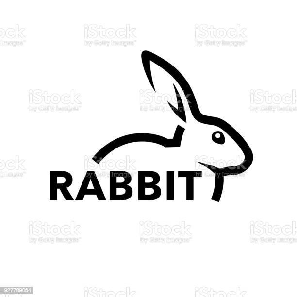 Rabbit icon concept with bunny line symbol vector id927789054?b=1&k=6&m=927789054&s=612x612&h=swzwewut5n jcwy7bchktl8el0ger5ulonn4qznxm6i=