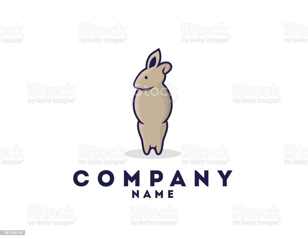Ilustración de Icono De Conejo Plantilla Ilustración y más banco de ...