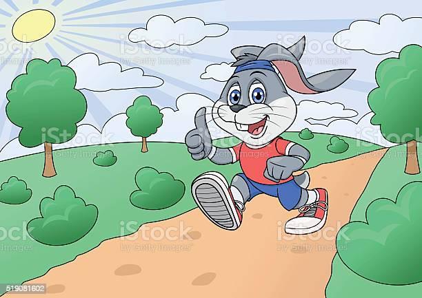 Rabbit is jogging in park 2 vector id519081602?b=1&k=6&m=519081602&s=612x612&h=c ukvsgtixurddeytgvw5hoqrkxw0agtbteu7sg4qmy=