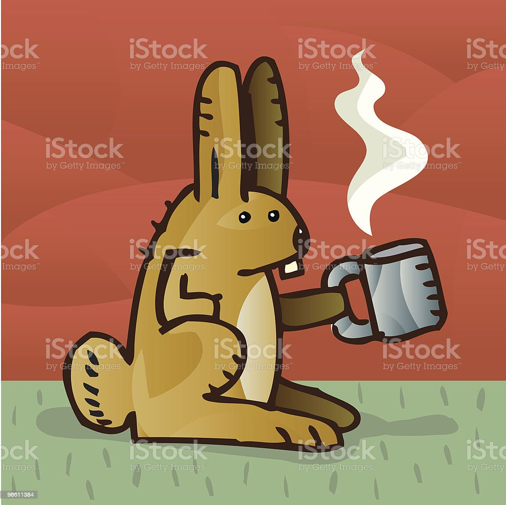 Кролик Jo - Векторная графика Американские кролики роялти-фри