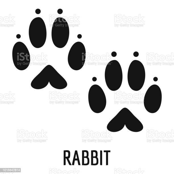 Rabbit step icon simple style vector id1015542814?b=1&k=6&m=1015542814&s=612x612&h=msxankoca4mgs6i ilued4 ciielwq3lpxixcg4l2bc=