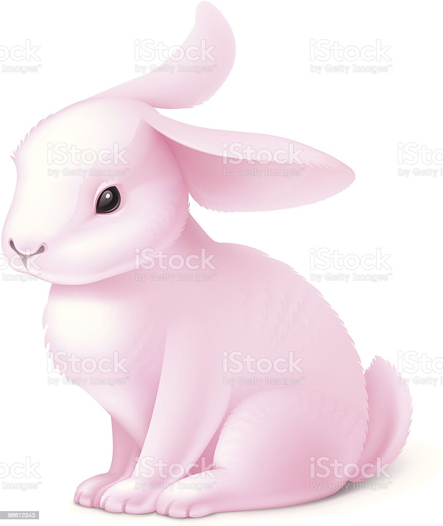 Rabbit royalty-free rabbit stock vector art & more images of animal