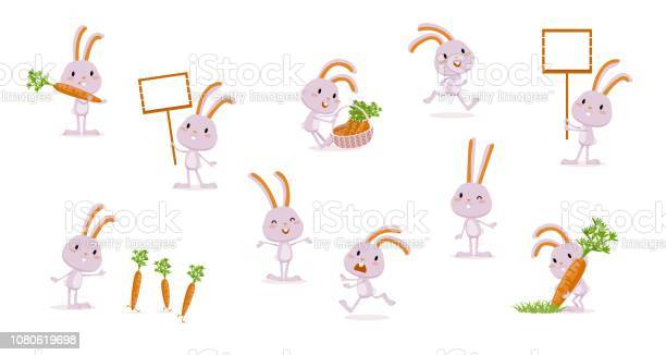 Rabbit with carrots collection of isolated characters hare big set of vector id1080619698?b=1&k=6&m=1080619698&s=612x612&h=eghysjoztoqu7sngcglakhtfxirrubahferch76rhfo=