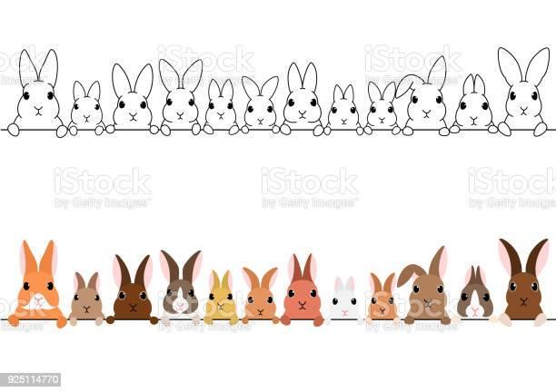 Rabbits border set vector id925114770?b=1&k=6&m=925114770&s=612x612&h=6do5idstn80pgtrprjsmgswnbdbvb5khv92z0tvgt1e=