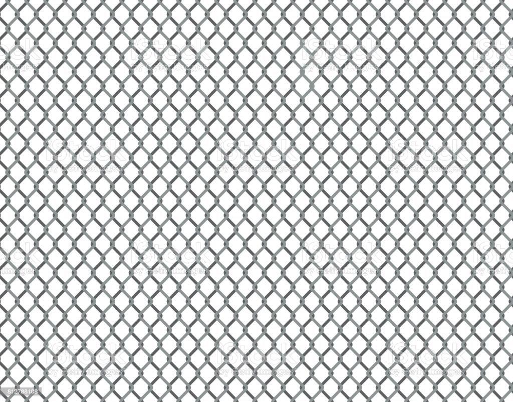 Rabitz grid seamless pattern vector art illustration