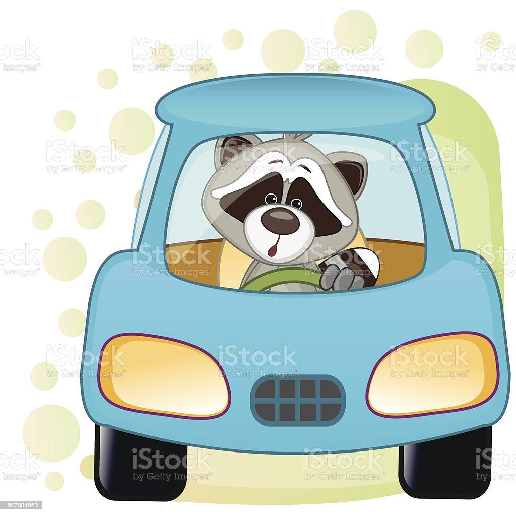 raton laveur dans une voiture cliparts vectoriels et plus d 39 images de art 507034853 istock. Black Bedroom Furniture Sets. Home Design Ideas