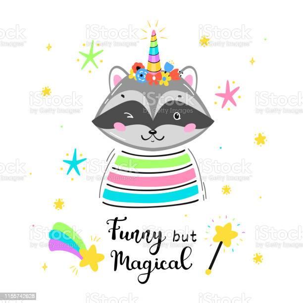 Super Cute Raccoon I Digital Download I  Watercolor I Waschb\u00e4r I Nursey Room I Kinderzimmer I Vanity Decor I Girls Cave I Baby Shower