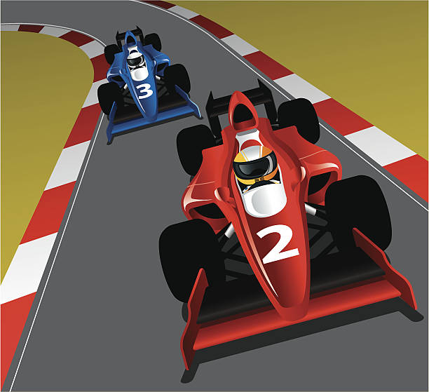 Royalty Free F1 Driver Clip Art, Vector Images