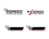 istock Race flag icon 1024439588