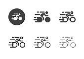istock Racing Bicycle Icons - Multi Series 1207499639