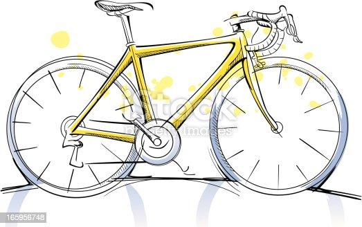 Racing Bicycle Sketch ...