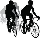 Racing Bike Silhouette