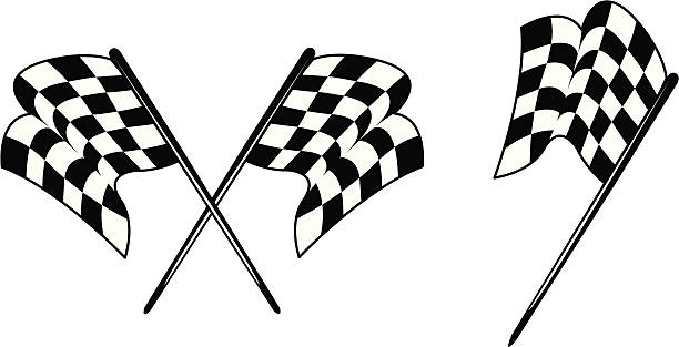 Racing - Checkered Flags Racing - Checkered Flags. Theses checkered flags have clean, slick lines. Perfect for anyone with the