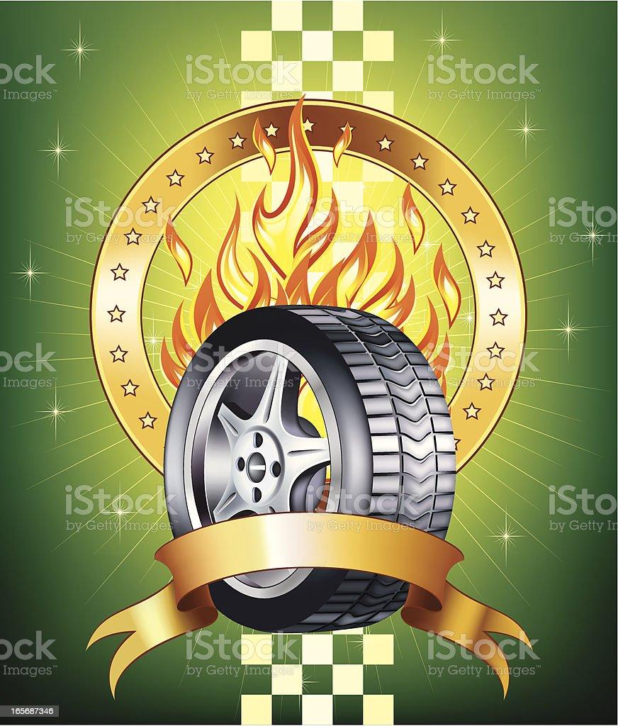 Racing design royalty-free stock vector art