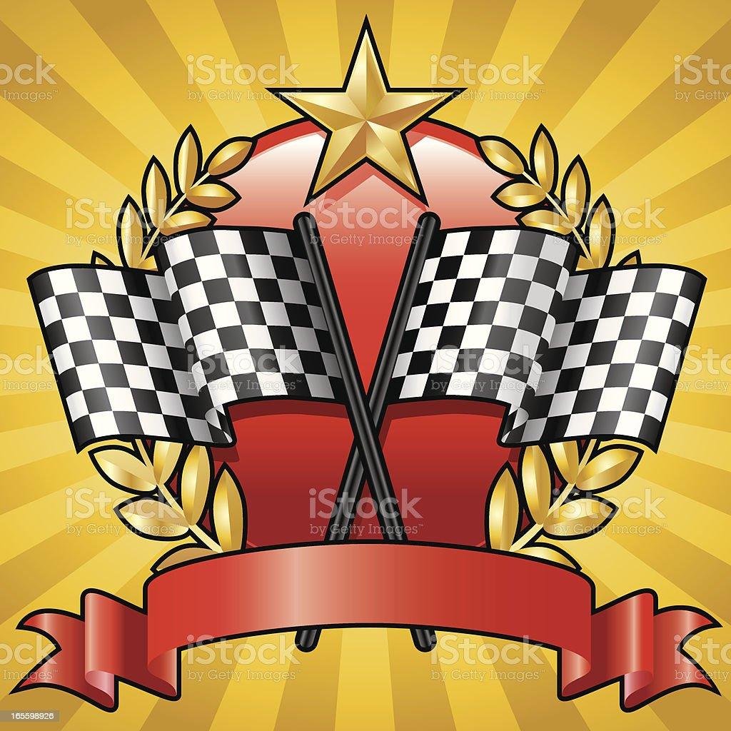 Racing Emblem 4 royalty-free racing emblem 4 stock vector art & more images of achievement