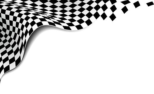 racing flag corner