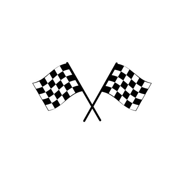 Best Checkered Flag Illustrations, Royalty-Free Vector Graphics