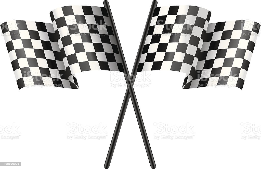 Racing Flags royalty-free racing flags stock vector art & more images of checked pattern