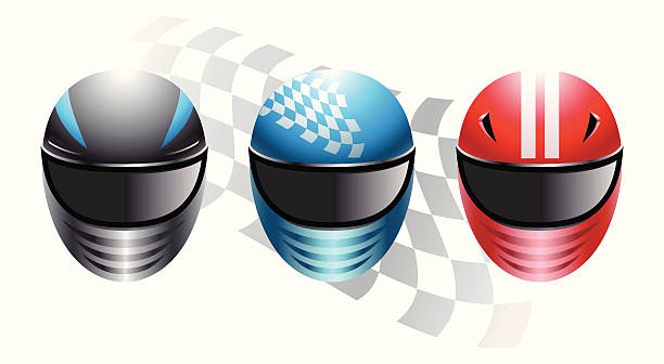 racing helme - helm stock-grafiken, -clipart, -cartoons und -symbole