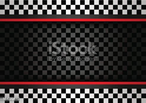 Racing horizontal backdrop.