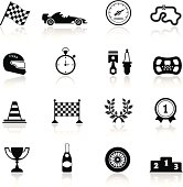 Racing Icon Set