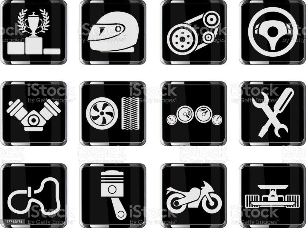 Racing icons royalty-free racing icons stock vector art & more images of car