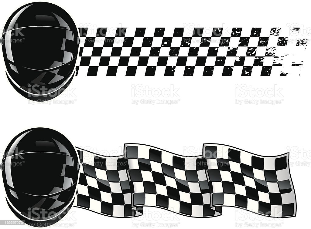 racing Shield royalty-free stock vector art