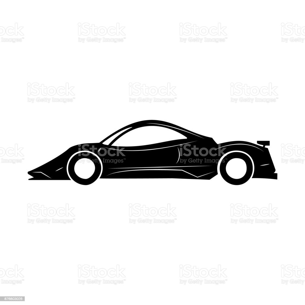 Racing Speed Car Icon Car Type Simple Icon Transport Element Icon ...