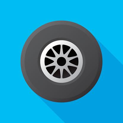 Racing Tire Flat