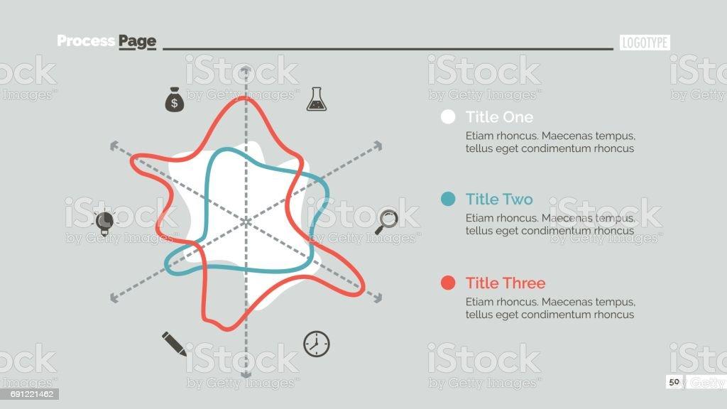 radar chart slide template stock vector art more images of
