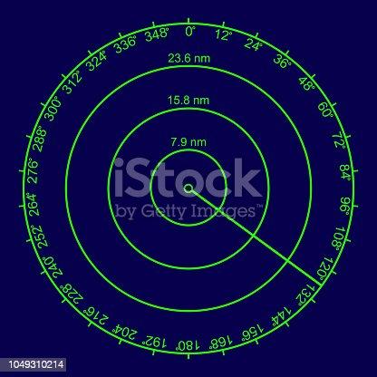 istock Radar Screen 1049310214