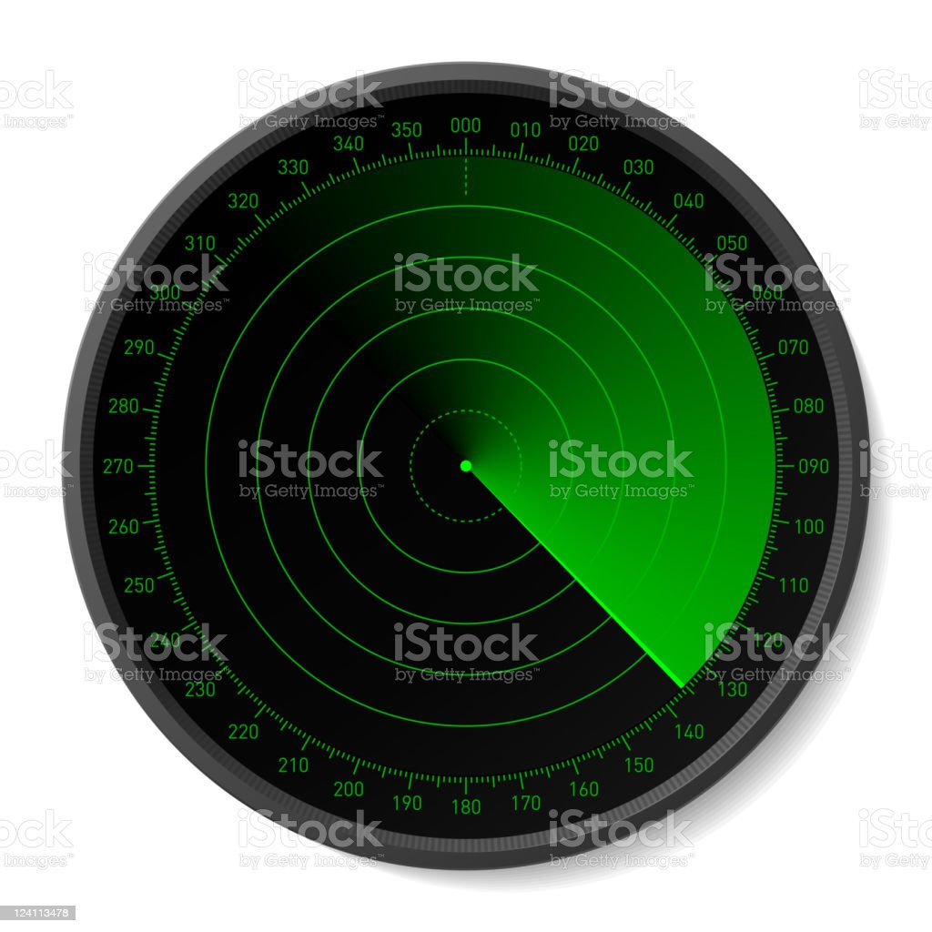 Radar royalty-free radar stock vector art & more images of alertness