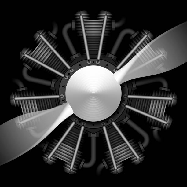 Five Blade Propeller Clip Art : Royalty free airplane propeller clip art vector images