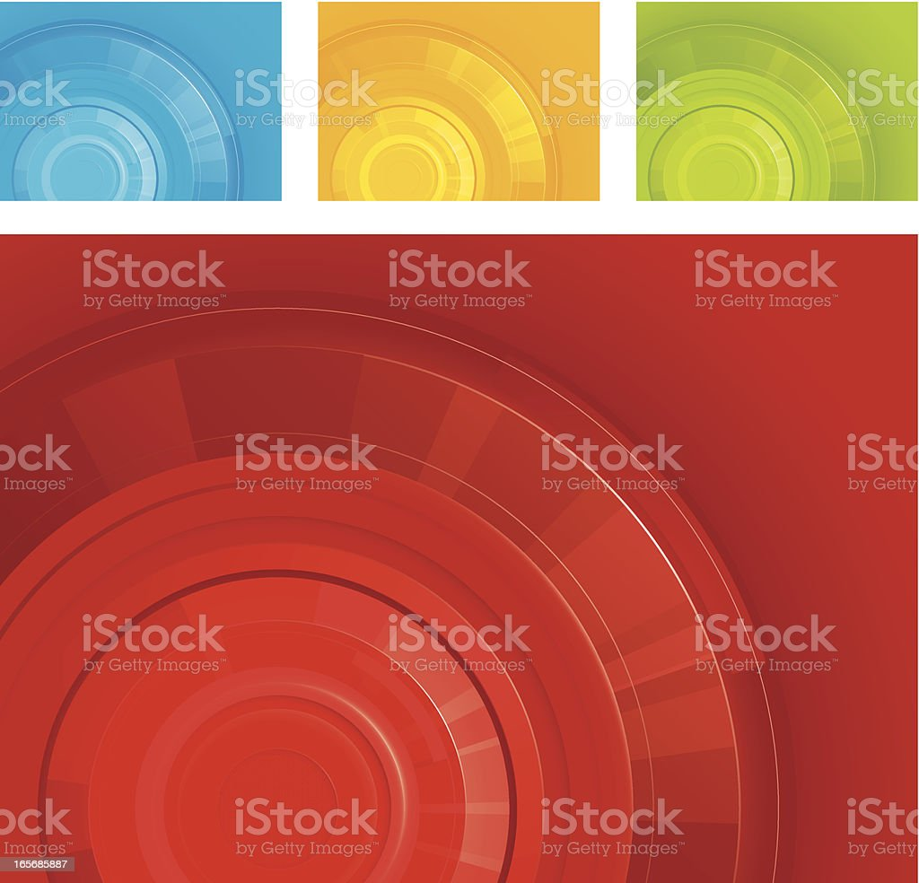 Radial background royalty-free stock vector art