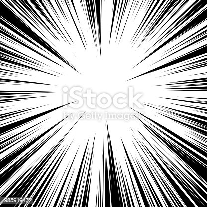 radial lines for comic book vector explosion texture design