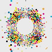 istock radial style spots ornate fashion pattern background 1138750546