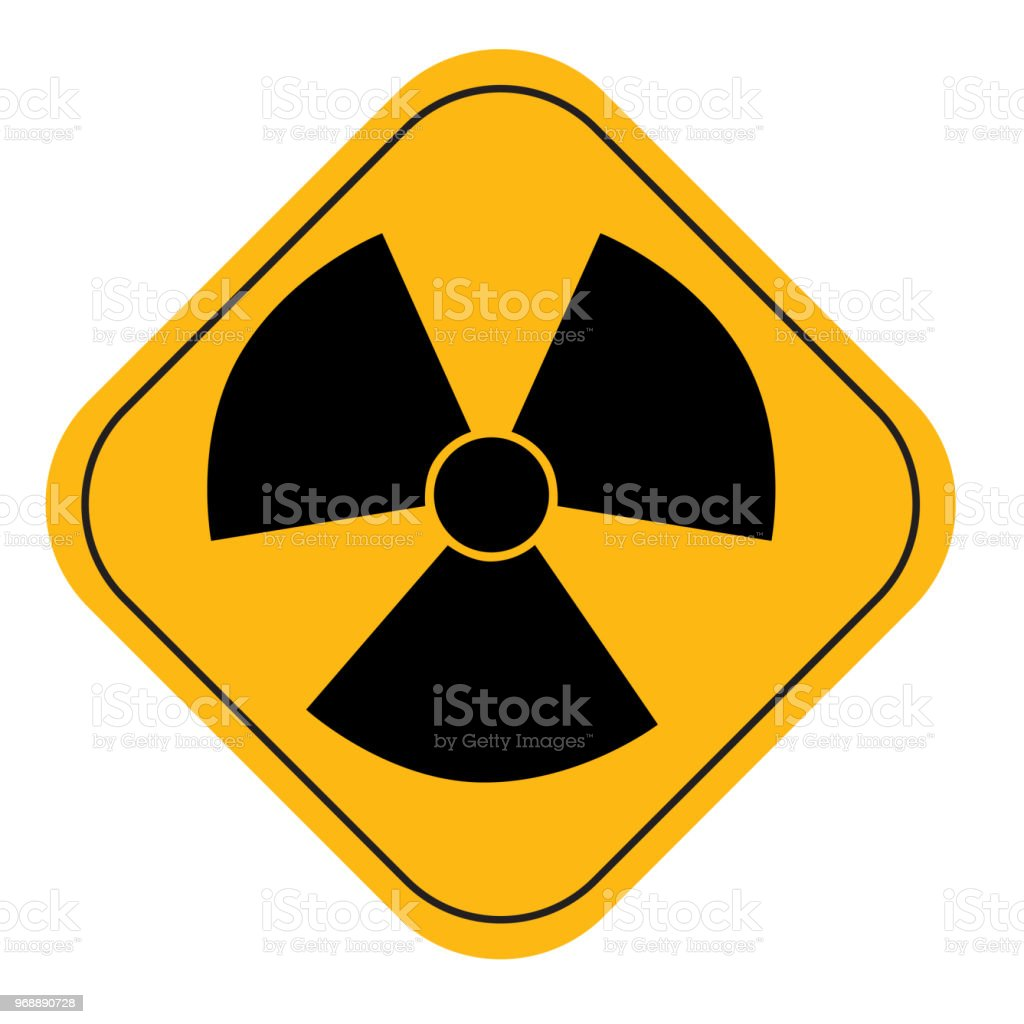 Radiation Active Hazard Symbol Sign Stock Vector Art More Images