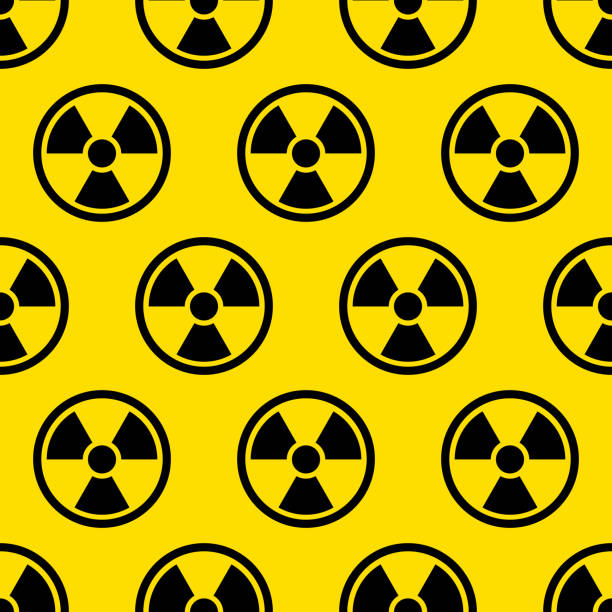 illustrazioni stock, clip art, cartoni animati e icone di tendenza di radiation pattern - reattore nucleare