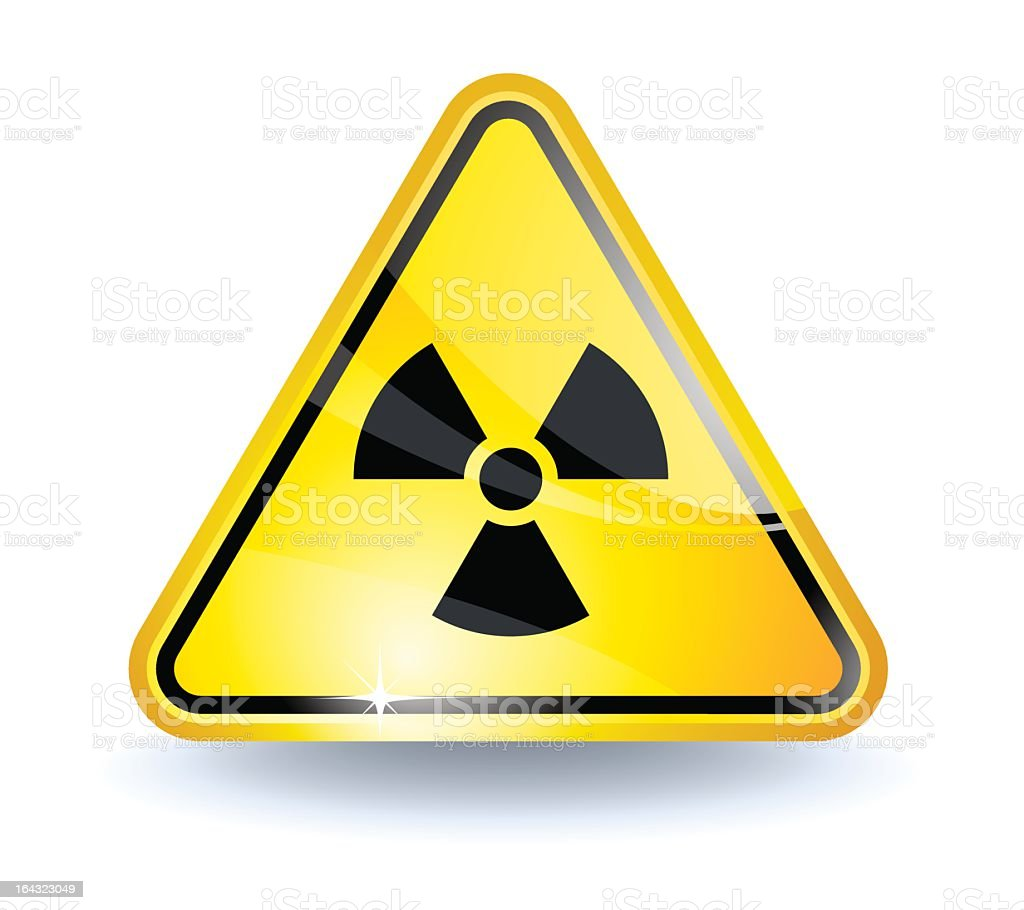 Radiation sign royalty-free radiation sign stock vector art & more images of alertness