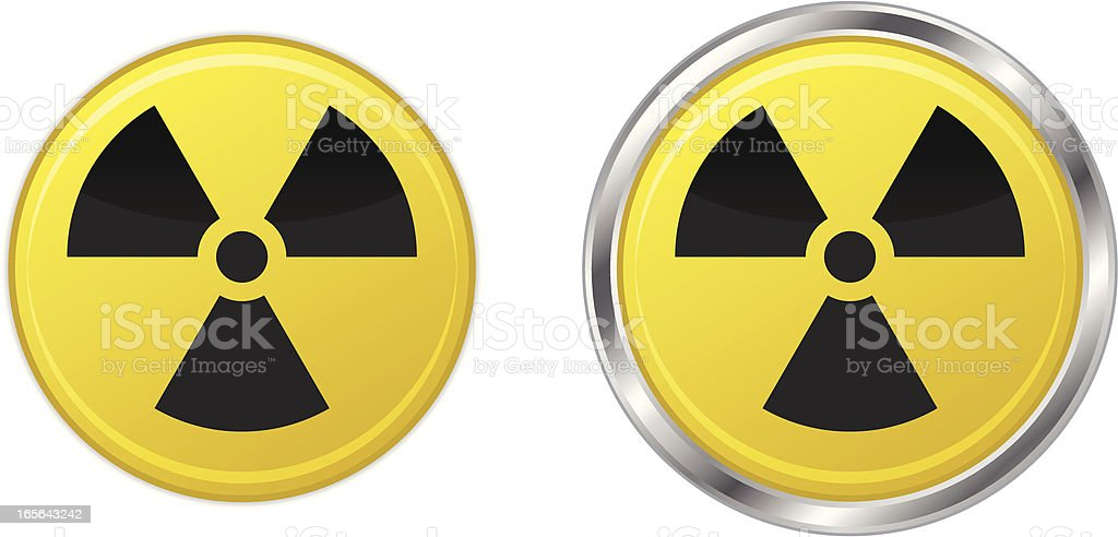 Radiation symbol icons royalty-free radiation symbol icons stock vector art & more images of black color