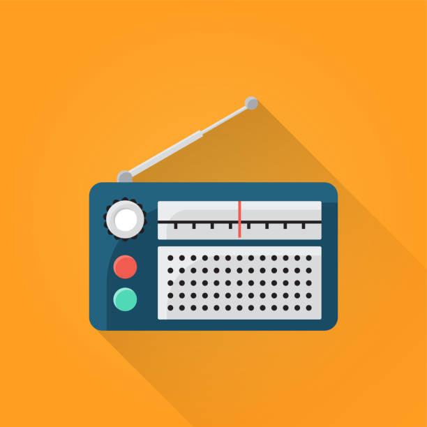 illustrations, cliparts, dessins animés et icônes de radio à icône - radio