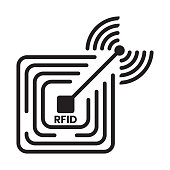 istock radio frequency identification or RFID technology long distance reader icon 1267142570