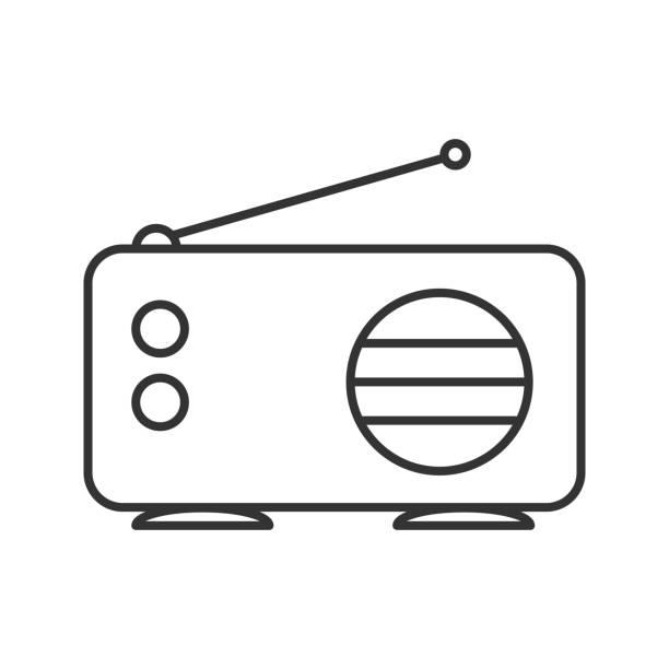 illustrations, cliparts, dessins animés et icônes de icône de radio - radio