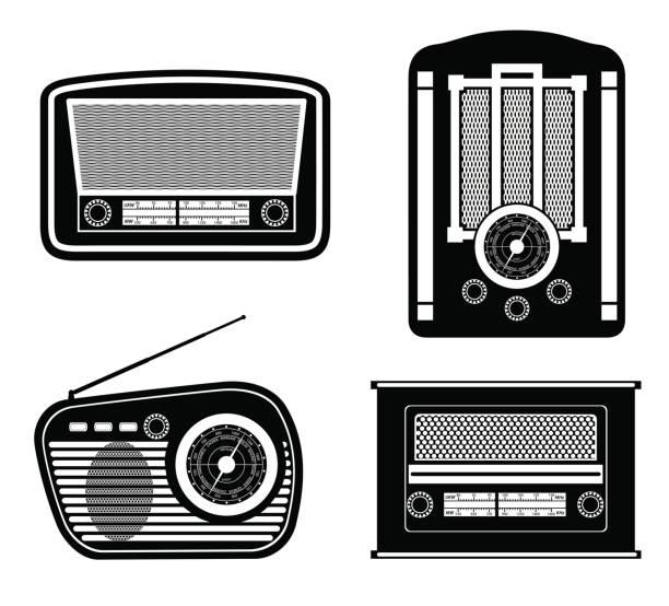 Best Shortwave Radio Illustrations, Royalty-Free Vector