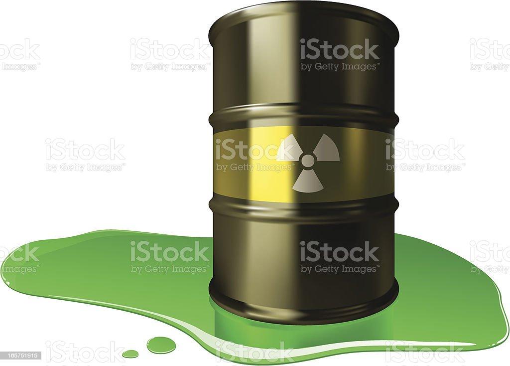 Radioactive Barrel royalty-free radioactive barrel stock vector art & more images of acid