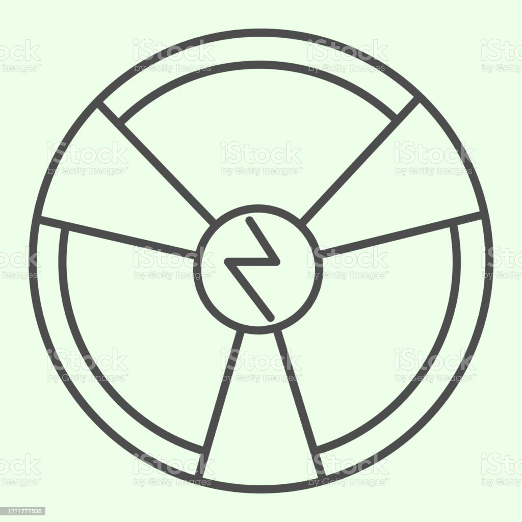 radioactive chemistry thin line icon hazard nuclear energy symbol outline style pictogram on white background radiation and technology signs for mobile concept and web design vector graphics stock illustration download image https www istockphoto com vector radioactive chemistry thin line icon hazard nuclear energy symbol outline style gm1221777538 358269067