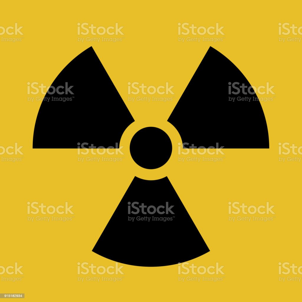 Radioactive contamination symbol vector illustration toxic sign radioactive contamination symbol vector illustration toxic sign warning of radioactive zone isolated on white biocorpaavc Images