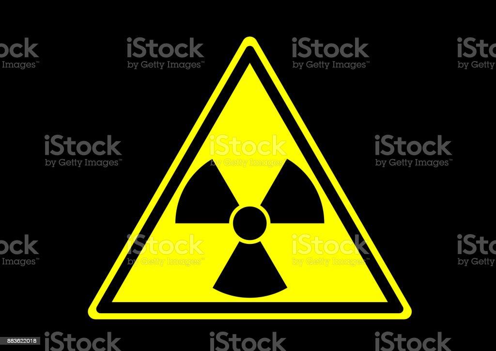 Radioactief materiaalvectorkunst illustratie