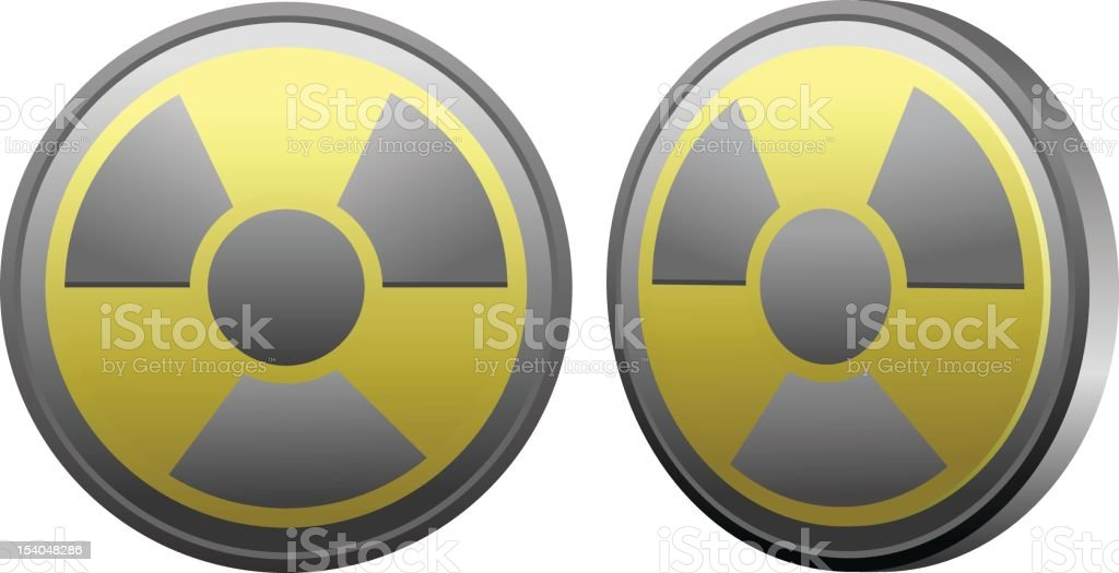 Radioactive royalty-free stock vector art